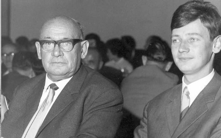 Hans und Hans-Jakob Heger